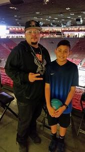 Michael attended University of New Mexico vs. Nevada - NCAA Men's Basketball on Jan 5th 2019 via VetTix