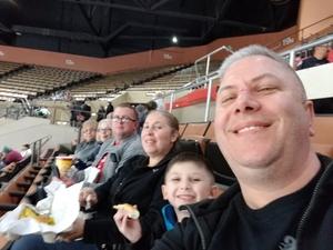 James attended Fresno Monsters vs. Ontario Avalanche - WHL on Jan 12th 2019 via VetTix