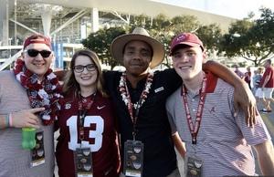 Robert attended 2018 Capital One Orange Bowl - Oklahoma Sooners vs. Alabama Crimson Tide - College Football Playoffs Semifinal Game on Dec 29th 2018 via VetTix