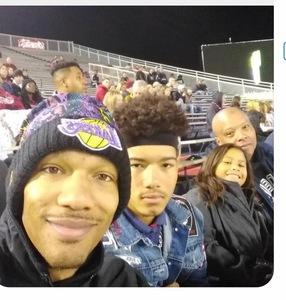 Arthur attended 2018 Capital One Orange Bowl - Oklahoma Sooners vs. Alabama Crimson Tide - College Football Playoffs Semifinal Game on Dec 29th 2018 via VetTix