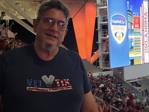 Jeff attended 2018 Capital One Orange Bowl - Oklahoma Sooners vs. Alabama Crimson Tide - College Football Playoffs Semifinal Game on Dec 29th 2018 via VetTix