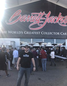 George attended 2019 Barrett Jackson - 1 Ticket is Good for 2 People - Family Value Day (kids 12 and Under Are Free) on Jan 12th 2019 via VetTix