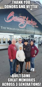 Cecil attended 2019 Barrett Jackson - 1 Ticket is Good for 2 People - Family Value Day (kids 12 and Under Are Free) on Jan 12th 2019 via VetTix