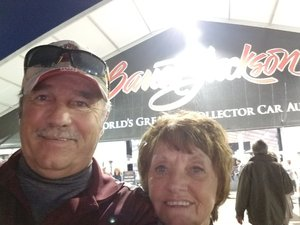 Michael attended 2019 Barrett Jackson - Collector Car Auction - 1 Ticket is Good for 2 People on Jan 16th 2019 via VetTix