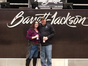 Paul attended 2019 Barrett Jackson - Collector Car Auction - 1 Ticket is Good for 2 People on Jan 16th 2019 via VetTix