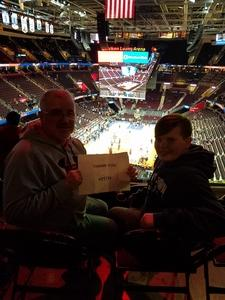 Danny attended Cleveland Cavaliers vs. New Orleans Pelicans - NBA on Jan 5th 2019 via VetTix