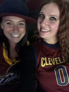 Deanna attended Cleveland Cavaliers vs. New Orleans Pelicans - NBA on Jan 5th 2019 via VetTix