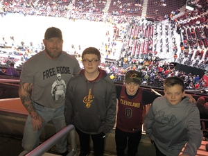 Chris attended Cleveland Cavaliers vs. New Orleans Pelicans - NBA on Jan 5th 2019 via VetTix