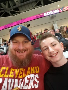 James attended Cleveland Cavaliers vs. Indiana Pacers - NBA on Jan 8th 2019 via VetTix