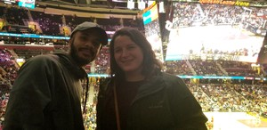 Blake attended Cleveland Cavaliers vs. Indiana Pacers - NBA on Jan 8th 2019 via VetTix