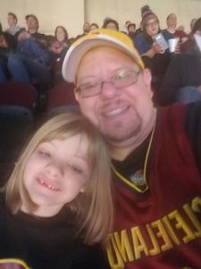 Tom attended Cleveland Cavaliers vs. Indiana Pacers - NBA on Jan 8th 2019 via VetTix