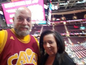Matt attended Cleveland Cavaliers vs. Indiana Pacers - NBA on Jan 8th 2019 via VetTix