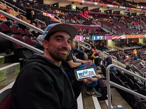 Louis attended Cleveland Cavaliers vs. Indiana Pacers - NBA on Jan 8th 2019 via VetTix
