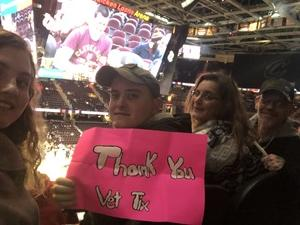 Geoffrey attended Cleveland Cavaliers vs. Indiana Pacers - NBA on Jan 8th 2019 via VetTix