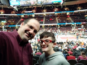 Michael attended Cleveland Cavaliers vs. Indiana Pacers - NBA on Jan 8th 2019 via VetTix