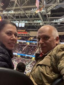 Frank attended Cleveland Cavaliers vs. Indiana Pacers - NBA on Jan 8th 2019 via VetTix