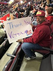 Brian attended Cleveland Cavaliers vs. Indiana Pacers - NBA on Jan 8th 2019 via VetTix