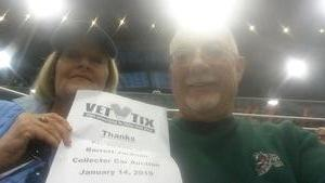 Ronald attended 2019 Barrett Jackson - Collector Car Auction - 1 Ticket is Good for 2 People on Jan 14th 2019 via VetTix