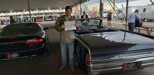 Paul attended 2019 Barrett-jackson - Collector Car Auction - 1 Ticket is Good for 2 People on Jan 15th 2019 via VetTix