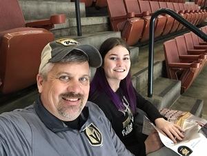Brian attended Anaheim Ducks vs. Vegas Golden Knights - NHL - Antis Community Corner on Jan 4th 2019 via VetTix