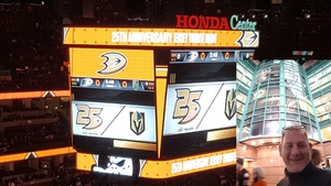 Daniel attended Anaheim Ducks vs. Vegas Golden Knights - NHL - Antis Community Corner on Jan 4th 2019 via VetTix