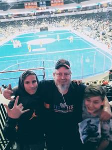 kevin attended Kansas City Comets vs. Florida Tropics - Major Arena Soccer League on Jan 6th 2019 via VetTix