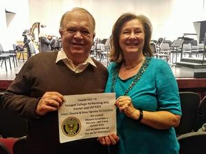 David attended Phoenix Symphony in Prescott - the Grand Canyon Suite on Jan 13th 2019 via VetTix