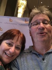 Ron and Sherri attended Phoenix Symphony - a Mozart Celebration on Jan 5th 2019 via VetTix