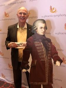Jeff of Scottsdale attended Phoenix Symphony - a Mozart Celebration on Jan 5th 2019 via VetTix