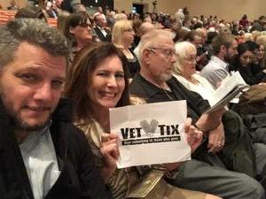 Stacy attended Phoenix Symphony - a Mozart Celebration on Jan 5th 2019 via VetTix