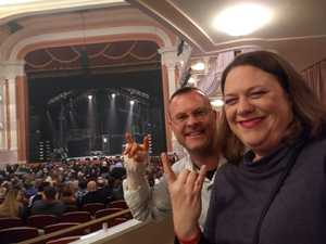 Ryan attended Rock of Ages Tenth Anniversary Tour on Jan 9th 2019 via VetTix