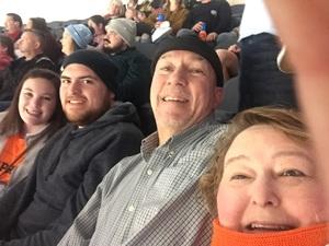 Jim L. and family attended Kansas City Mavericks - Minor League on Jan 5th 2019 via VetTix