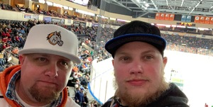 Eric attended Kansas City Mavericks - Minor League on Jan 4th 2019 via VetTix