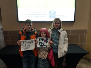 Baden's siblings attended Kansas City Mavericks - Minor League on Jan 4th 2019 via VetTix