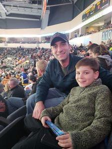 Adam attended Kansas City Mavericks - Minor League on Jan 4th 2019 via VetTix