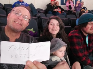 MICHAEL attended Kansas City Mavericks - Minor League on Jan 4th 2019 via VetTix