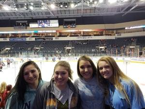 Tony attended Kansas City Mavericks - Minor League on Jan 4th 2019 via VetTix