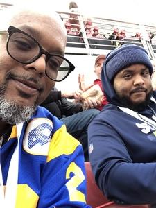Philbert attended 2019 CFP National Championship - Alabama Crimson Tide vs. Clemson Tigers on Jan 7th 2019 via VetTix