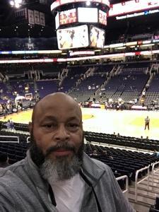 Harvey attended Phoenix Suns vs. LA Clippers - NBA on Jan 4th 2019 via VetTix