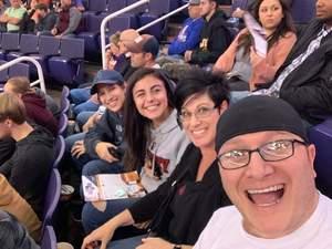 Justin attended Phoenix Suns vs. LA Clippers - NBA on Jan 4th 2019 via VetTix