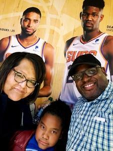 Richard attended Phoenix Suns vs. LA Clippers - NBA on Jan 4th 2019 via VetTix