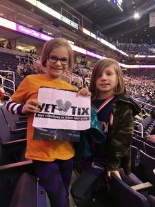 Michael attended Phoenix Suns vs. LA Clippers - NBA on Jan 4th 2019 via VetTix