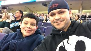 Roberto attended Phoenix Suns vs. LA Clippers - NBA on Jan 4th 2019 via VetTix