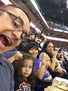 Santiago attended Phoenix Suns vs. LA Clippers - NBA on Jan 4th 2019 via VetTix