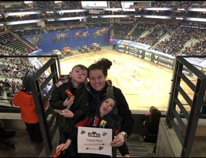 Thomas attended Monster Jam Triple Threat Series - Motorsports/racing on Jan 4th 2019 via VetTix