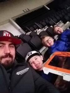Kolby attended Monster Jam Triple Threat Series - Motorsports/racing on Jan 4th 2019 via VetTix
