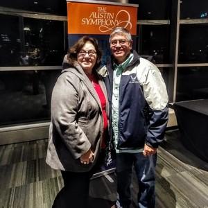 Ricardo attended Variation Voyage - Presented by the Austin Symphony on Jan 11th 2019 via VetTix