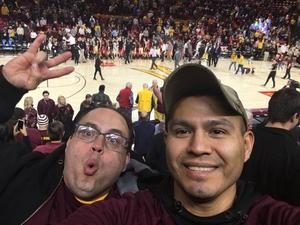 Jesus attended Honor Row ASU Sun Devils vs. Oregon State - NCAA Men's Basketball on Jan 17th 2019 via VetTix