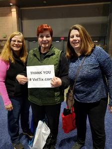 Judith attended Philadelphia Home Show on Jan 11th 2019 via VetTix