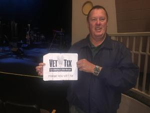 Ricky attended The Paul Thorn Band on Jan 13th 2019 via VetTix